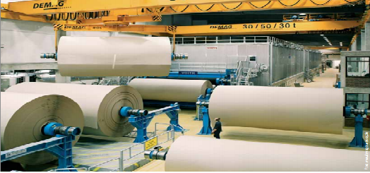 Hóa chất sản xuất giấy được ứng dụng nhiều trên thị trường