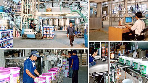 Tìm hiểu về hóa chất sản xuất sơn