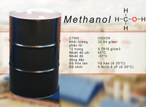 Lựa chọn dung môi hóa chất methanol chất lượng tốt đến từ Bình Dương